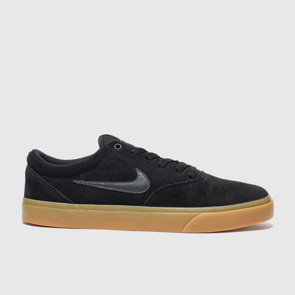 Nike Sb Black & Brown Sb Charge Trainers