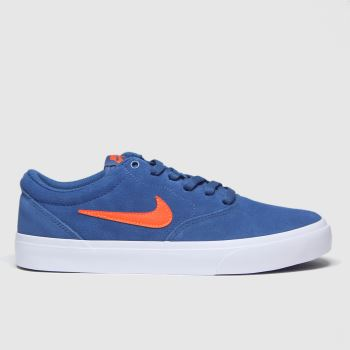 Nike SB Blue Charge Mens Trainers