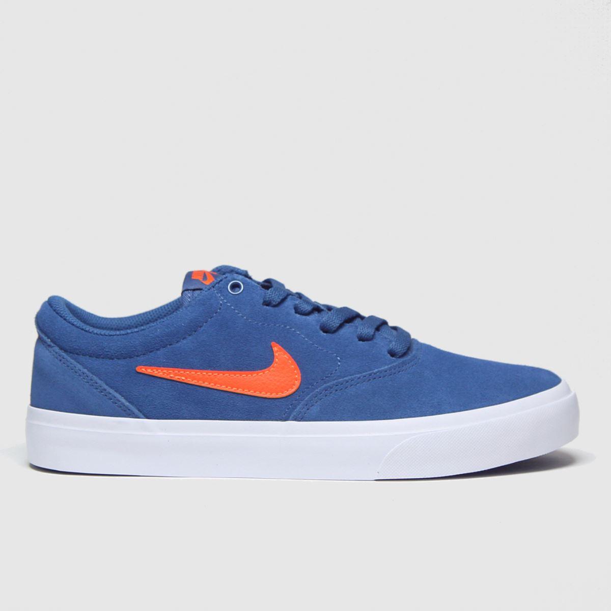 Nike SB Nike SB Blue Charge Trainers