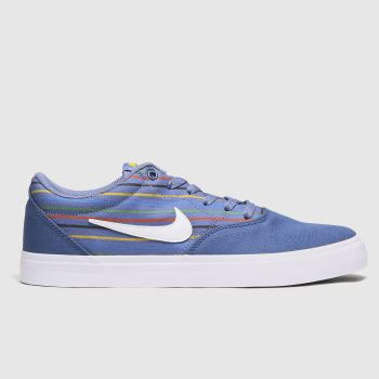 Nike SB Blue Sb Charge Mens Trainers