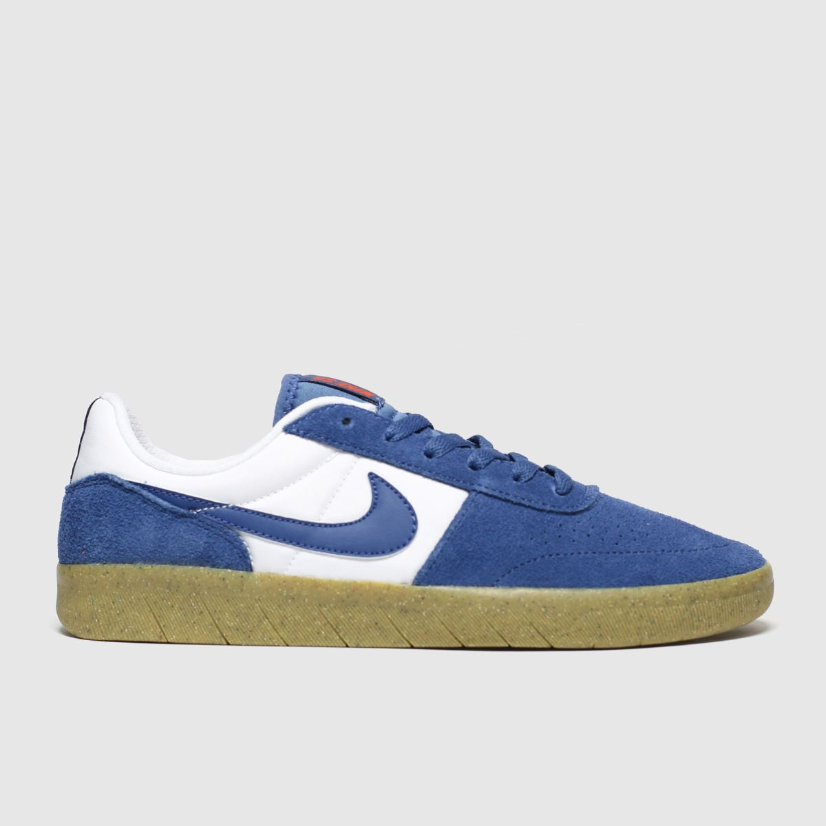 Nike Sb White & Blue Team Classic Trainers