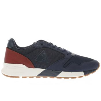 LE COQ SPORTIF NAVY OMEGA X CRAFT TRAINERS
