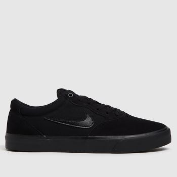 Nike SB Black Chron Solarsoft Mens Trainers