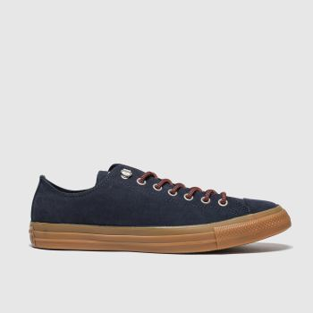Converse Navy & Orange Earthy Buck Trek Ox c2namevalue::Mens Trainers