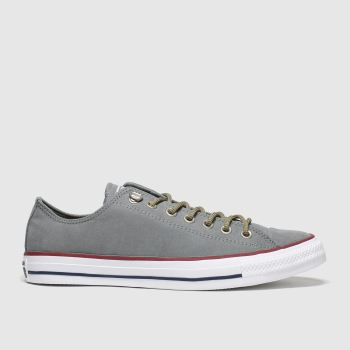 Converse Grey Earthy Buck Trek Ox Mens Trainers