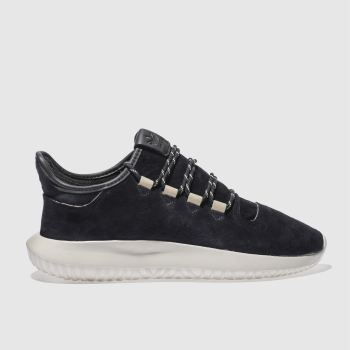ADIDAS BLACK TUBULAR SHADOW TRAINERS
