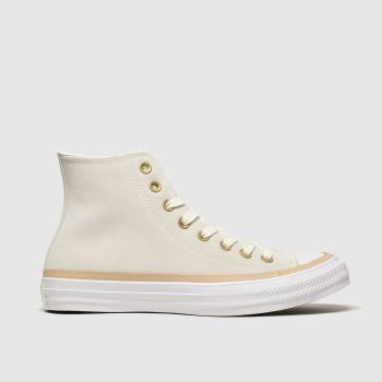 Converse Natural All Star Vachetta Hi Mens Trainers