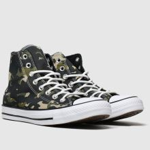 Converse All Star Camo Hi 1