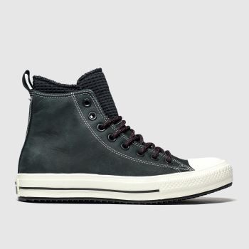 Converse Black All Star Wp Boot Hi Mens Trainers