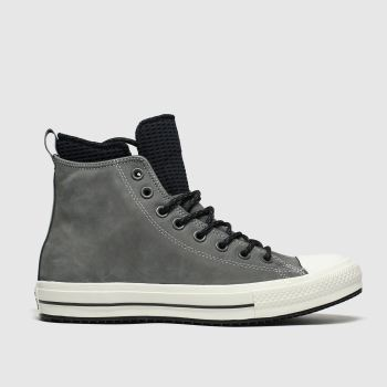 Converse Grey All Star Wp Boot Hi Trainers