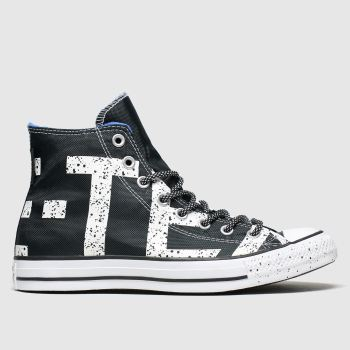 Converse Black & White All Star Gore-tex Hi Mens Trainers