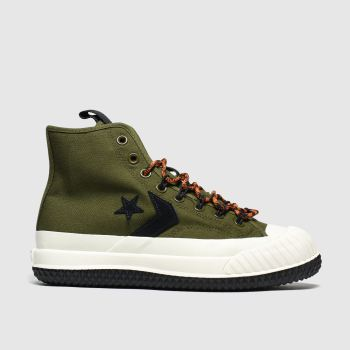 Converse Khaki Bosey Mc Boot Mens Trainers