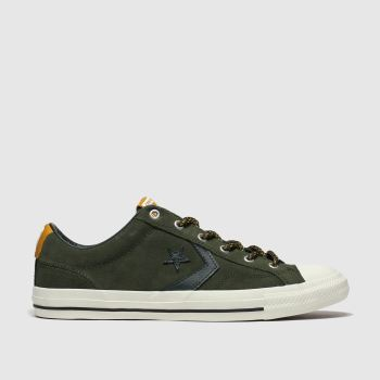 Converse Khaki Mountain Club Star Player c2namevalue::Mens Trainers