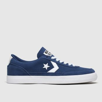 Converse Navy & White Net Star Classic c2namevalue::Mens Trainers