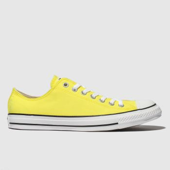 Converse Yellow Chuck Taylor All Star Ox Mens Trainers