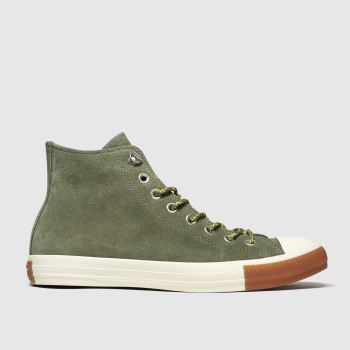 Converse Khaki All Star Hiker Hi Mens Trainers