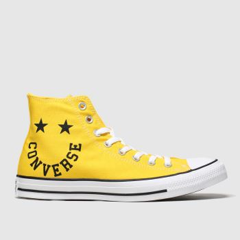 Converse Yellow Hi Smile Mens Trainers