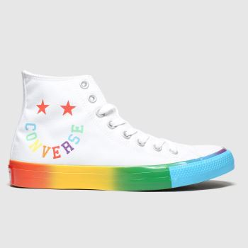 Converse Multi Hi Smile Mens Trainers