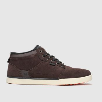 Etnies Brown Jefferson Mid Mtw Mens Trainers