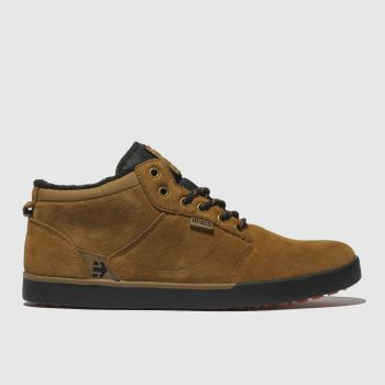 Etnies Tan Jefferson Mid Mtv Mens Trainers
