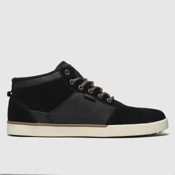 Etnies Black Jefferson Mid Mtw c2namevalue::Mens Trainers