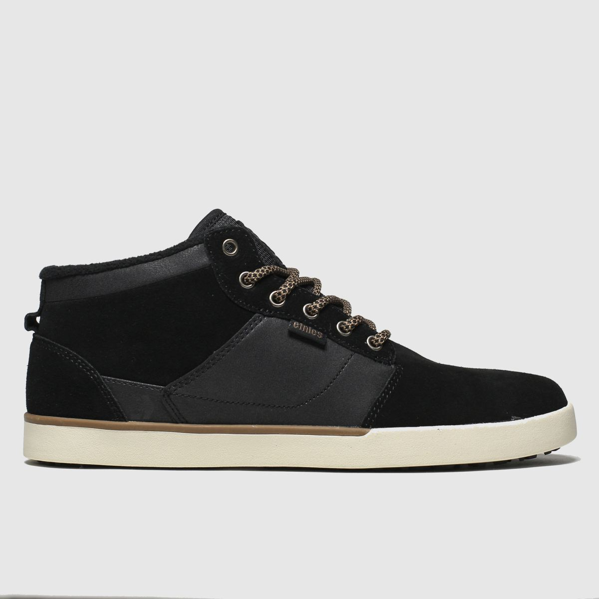 Etnies Black Jefferson Mid Mtw Trainers
