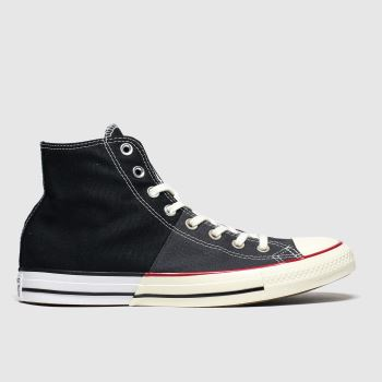 Converse Black & White Split Hi Mens Trainers