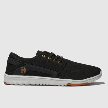 Etnies Black Scout Mens Trainers