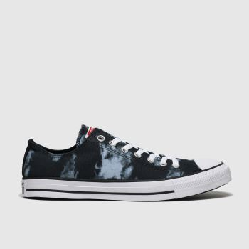 Converse Black & Grey Cons Ctas Back To Shore Ox Mens Trainers
