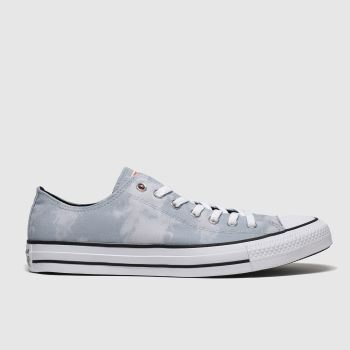 Converse Grey All Star Back To Shore Ox Mens Trainers