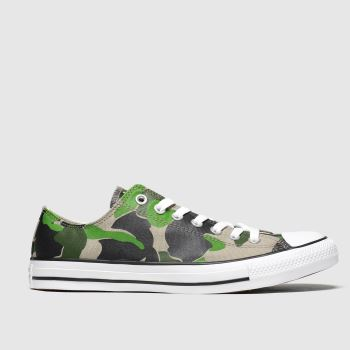 Converse Khaki Ox Camo c2namevalue::Mens Trainers