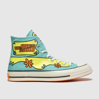 Converse Green Chuck 70 Hi Mystery Machine Mens Trainers
