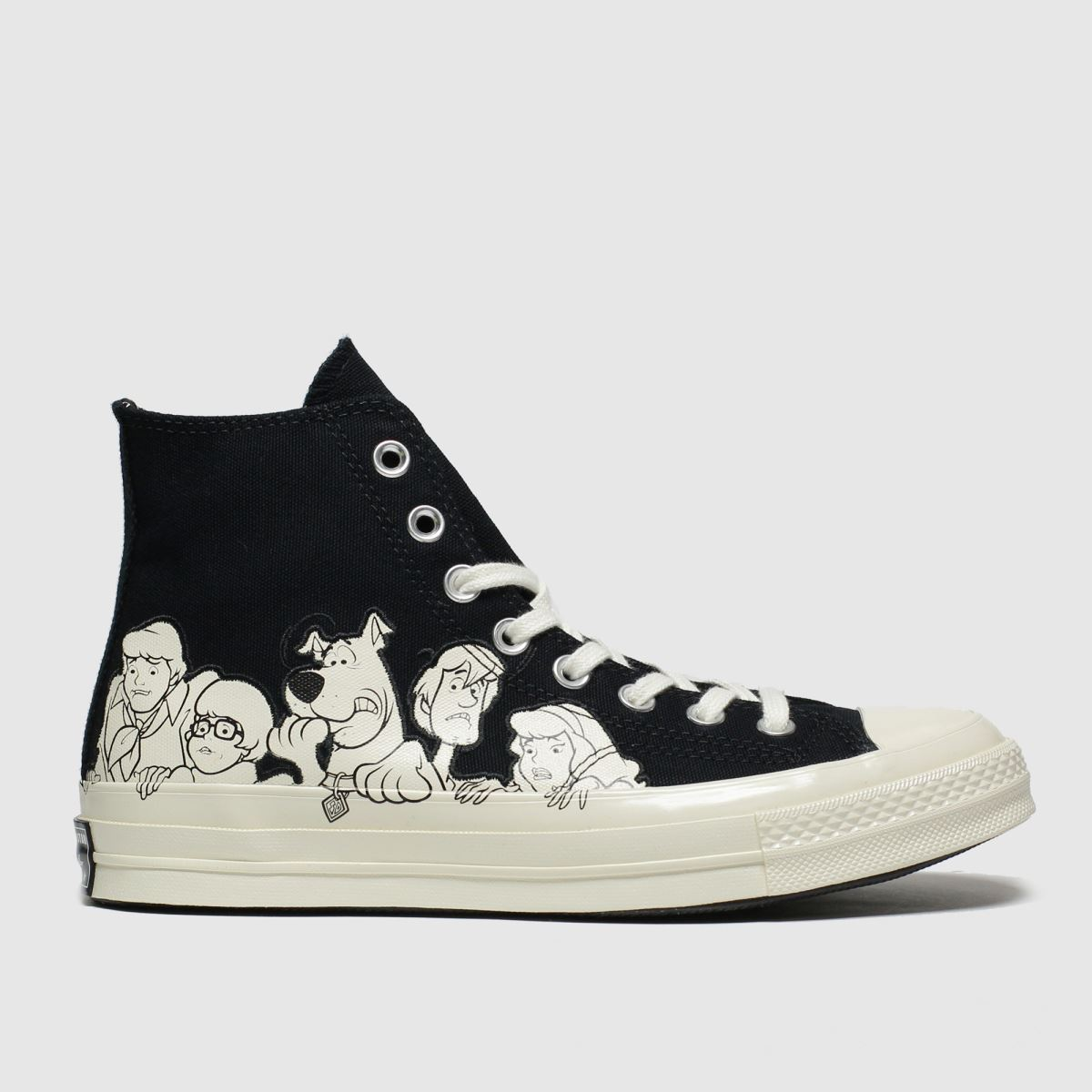 Converse Black & White Chuck 70 Hi Mystery Machine Trainers