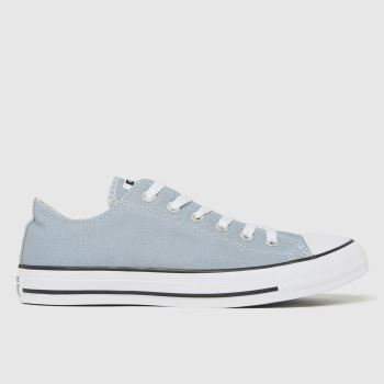 Converse Pale Blue Ox Mens Trainers