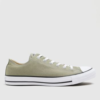 Converse Light Green Ox Mens Trainers