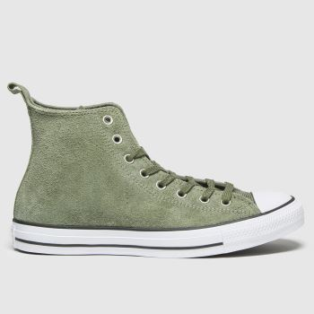 Converse Khaki Mountain Hi Mens Trainers