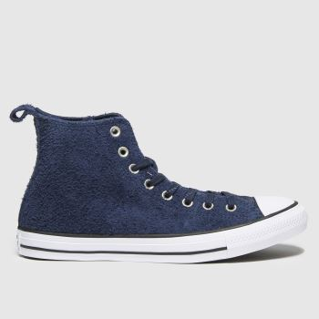 Converse Navy Mountain Hi Mens Trainers