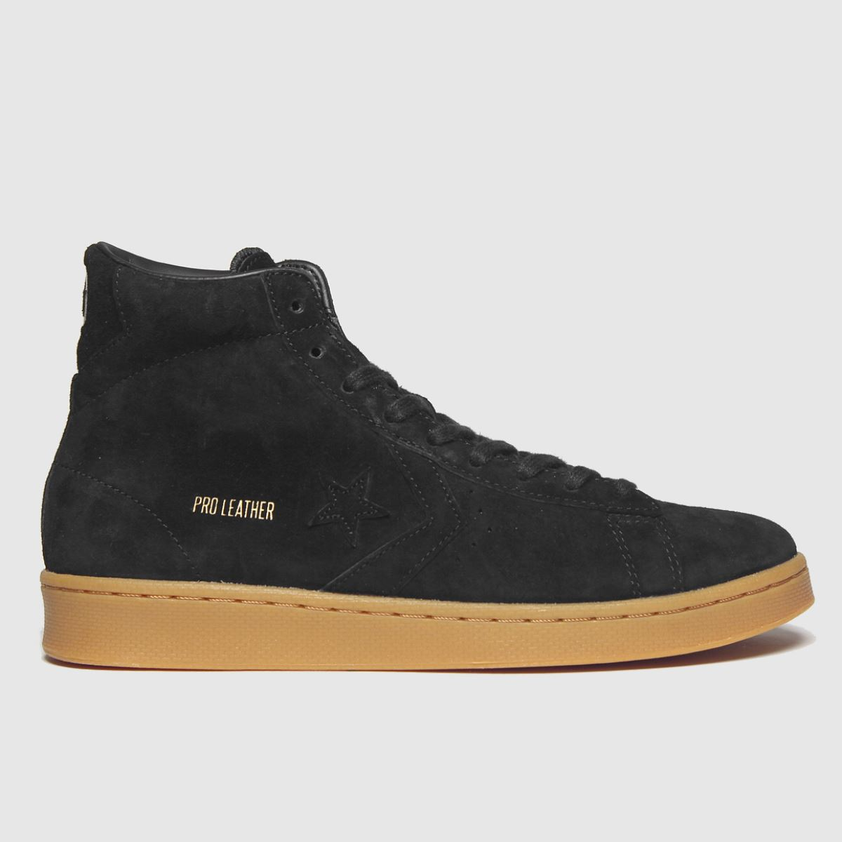 Converse Black & Brown All Star Hi Pro Trainers
