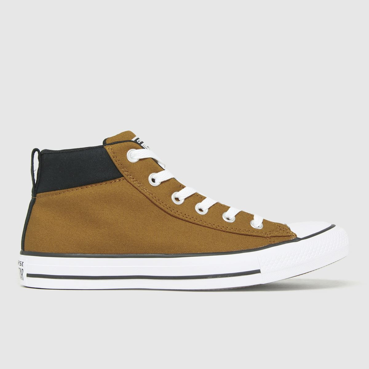 Converse Tan Street Mid Trainers