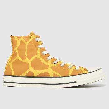 Converse Multi Giraffe Hi Mens Trainers