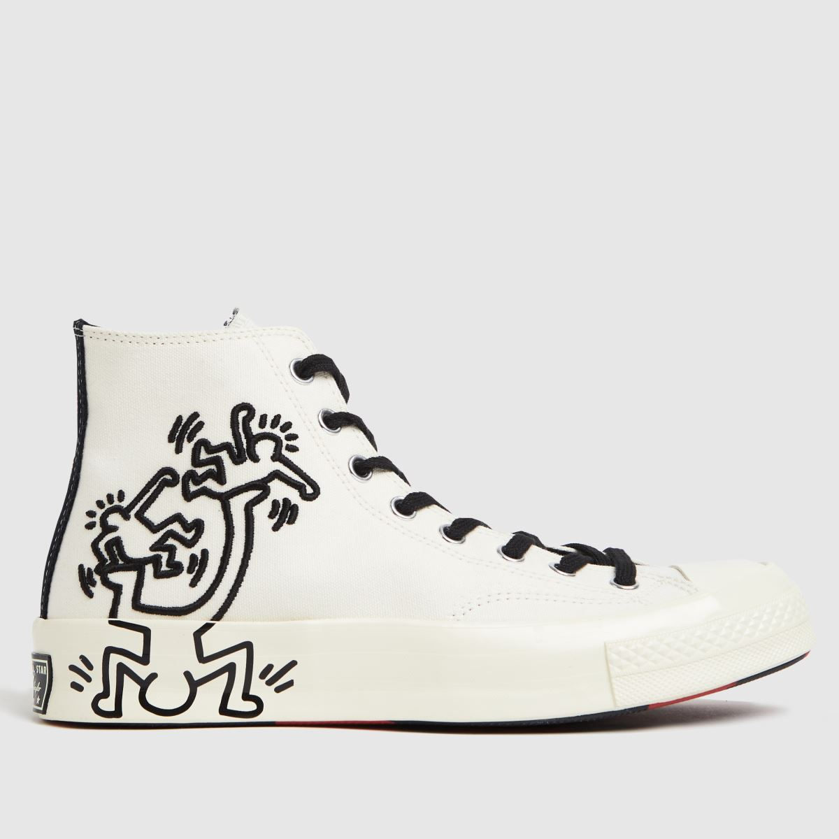 Converse White Chuck 70 Keith Haring Hi Trainers