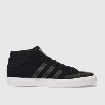 Adidas Black Matchcourt Mid Mens Trainers