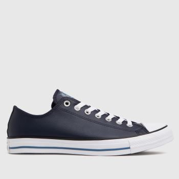 Converse Navy & White Ox Mens Trainers