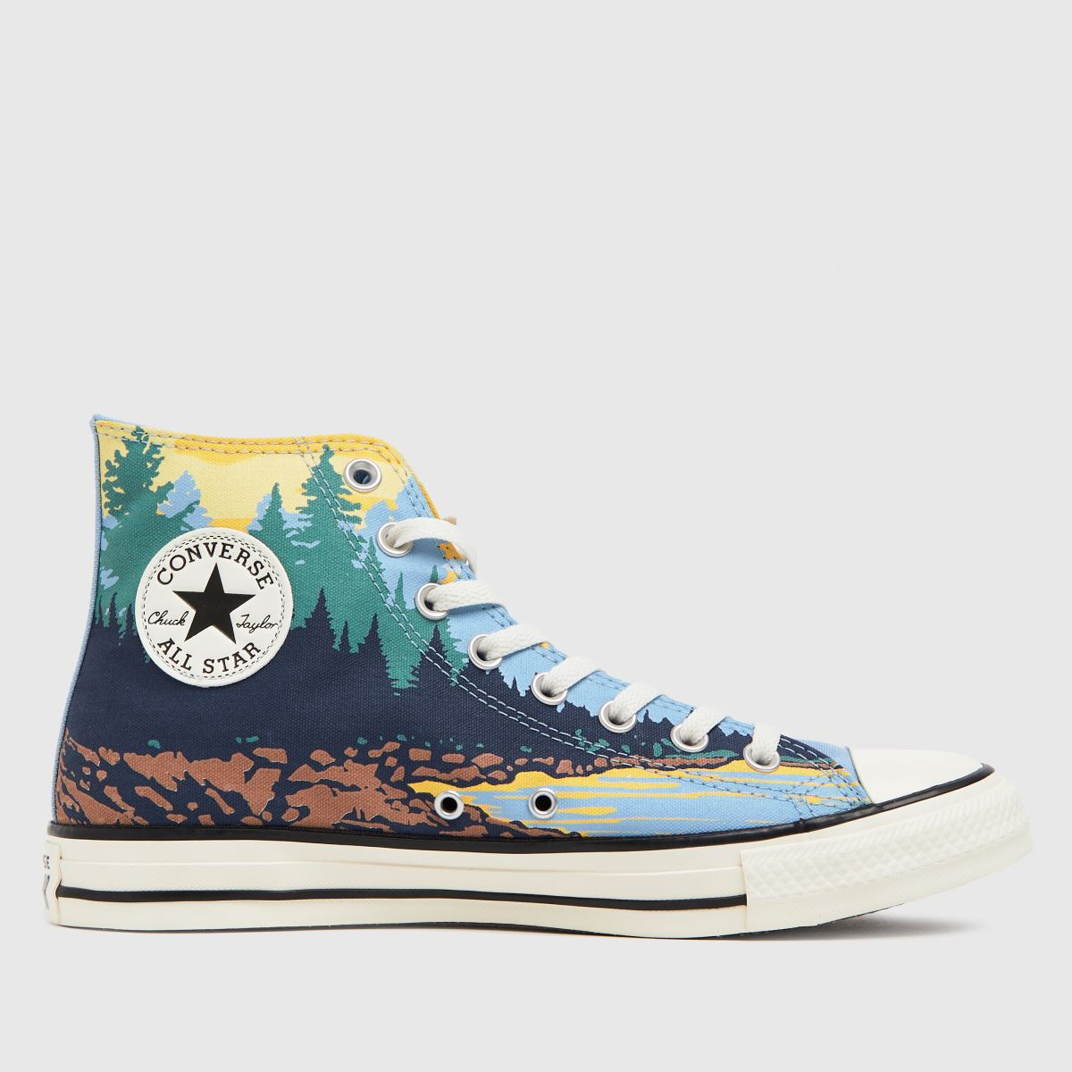 Converse Multi National Parks Hi Trainers