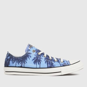 Converse Blue Ox Archive Palms Mens Trainers