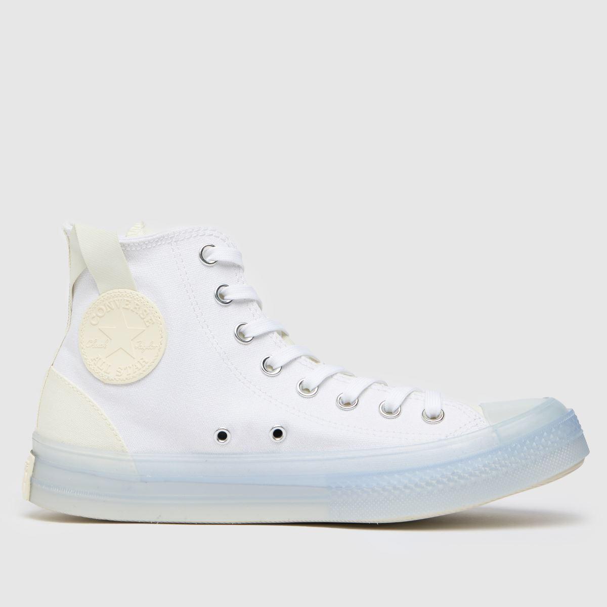 Converse White Cx Hi Trainers