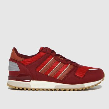 adidas Burgundy Zx 700 Mens Trainers