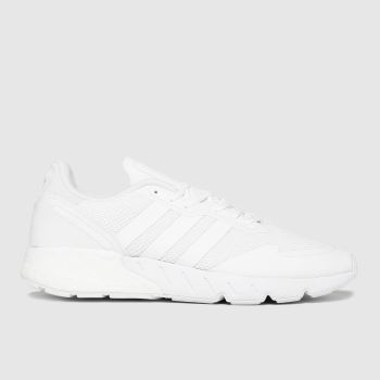 adidas White Zx 1k Boost Mens Trainers
