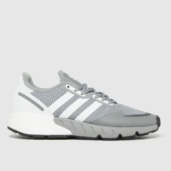 adidas Grey Zx 1k Boost Mens Trainers