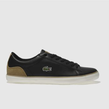 Lacoste Black Lerond Mens Trainers